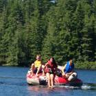 Tubing at Ruby Lake
