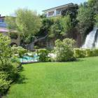 The Garden, the Waterfall and the Pool