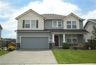 Golf Course Home in Orting Valley