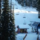 X-Country, Downhill and Snowshoe are all Based at Silver Queen Chairlift Right Outside your Door.