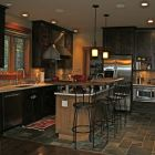 Kitchen Wet Bar Island