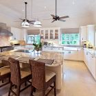 Spacious Modern Kitchen with Professional Equipment