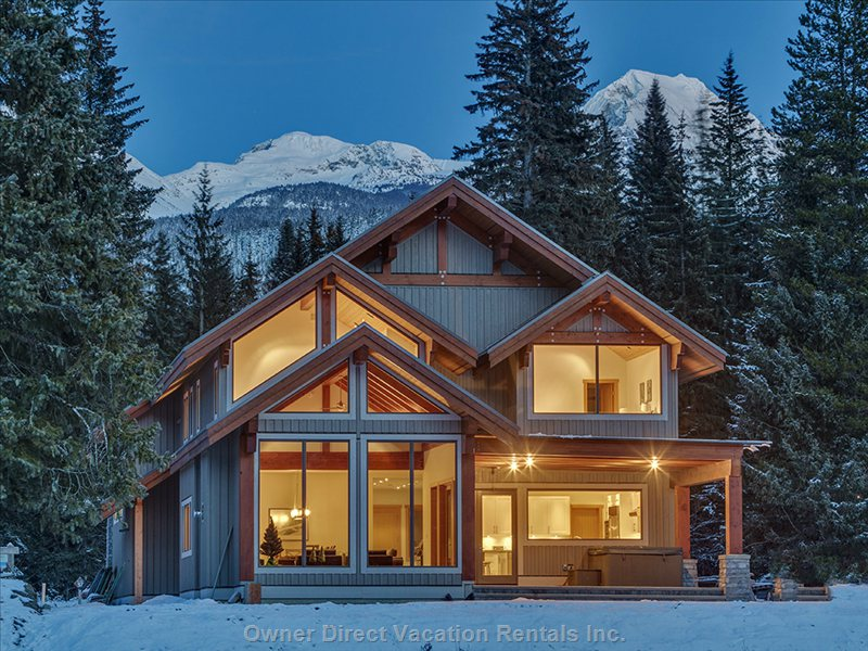 Vacation rental houses whistler owner direct for Rent house for a night