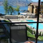 Balcony with View of Lake and Pool