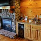 Great Room Fireplace, Wet Bar, Wine Coolers