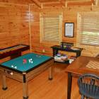 Game Room - Shuffleboard and Bumper Pool