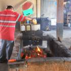 Select your Fresh Caught Seafood and Have it Grilled over Hot Coals (Platinitos).