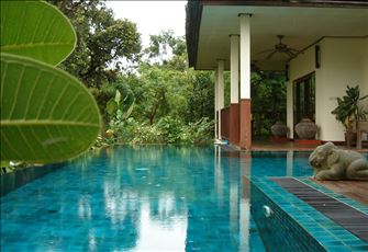 Country Villa & Private Pool among the Rice Fields of Thailand; Fully Serviced