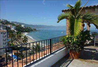 Los Muertos Beach by the Pier, Rooftop Terrace W/Pool, 5th Floor, Wifi, Big Deck