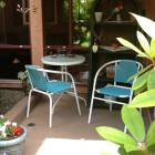 A Private Patio off of the Kitchen. Perfect for Sitting & Reading