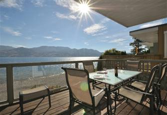 1,300 Feet of Private Beachfront on Okanagan Lake
