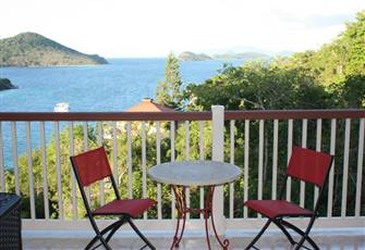 Wonderful Caribbean Sea View for Rent at St Thomas U.S. Virgin Islands