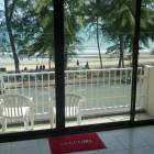 View from Living Room to Balcony and Beach