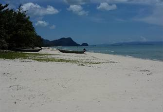 Hidden Paradise the Beautiful Nadan Beach Khanom.
