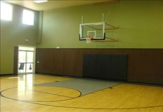 The Indoor Basketball Court at Runaway Beach Club