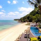 Secluded Beach and Resort Pool are Just a Minute's Walk Away