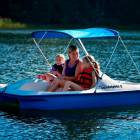 Paddle Boat Seats 5 Included in your Vacation Rental, all Kinds of Fun!!