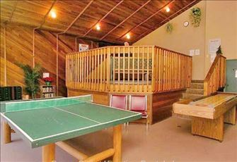 Hot Tub Area has Ping Pong Table, Shuffleboard Table, and Lending Library.