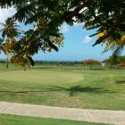 Golf Course with Caribbean View