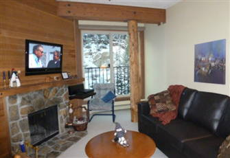 True Ski-in/out Location - New High Definition Tv over Fireplace- in Unit Sauna!