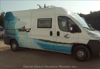 Campervan Hire in Portugal - 5 Seats/Berth - Wc - from €60,00/Day with Insurance