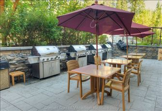 Blackstone Mountain Lodge - Shared Bbq Area