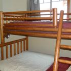 2nd Bedroom has a Double and Twin Bunk