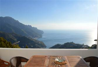 Lovely Two-Story Villa Situated in the Heart of Ravello