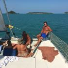 Another Great Day out on the Catamaran
