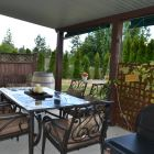 Enjoy a Barbeque on the Secluded Patio