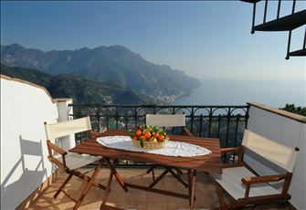 Two Bedroom Apartment with a Great View of the Amalfi Coast