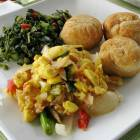 Jamaican National Dish: Ackee and Saltfish