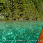 Crystal Clear Emerald Waters of Johnson Lake Perfect for Canoes Or Kayaking