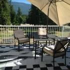 Outside Deck with Bbq and Deck Furniture