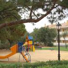 Gated Childrens Playground with Picnic Tables and Right beside the Pool Area.  3 Minute Walk from Supermarkets and 10 Minutes to Beach.