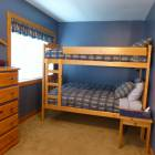 Fourth Bedroom with Single/Queen Beds