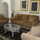 Luxurious Lounge - with Vaulted Ceiling. Quality Furnishings to Make your Stay Enjoyable,