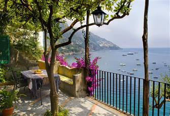 Villa Gaia in Positano , Terraces and Sea View