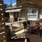 Upper Deck Awnings with Cooling Misting System