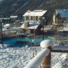 Upper Village Warm Pool as Hot Tubs in the Winter