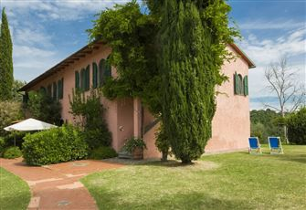 Country House with Pool and Tennis for 25 Person Next to S. Giminiano