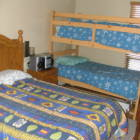 2 Bedrooms with Double Bed and Bunk Beds