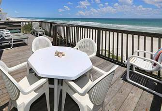 Daytona Beach Florida 3 Br/2ba Oceanfront Home with Panoramic Ocean Views
