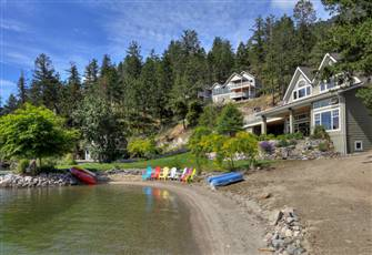 Kinloch Cove - New Lakeside  2 Bedroom Cottage Minutes from Kelowna