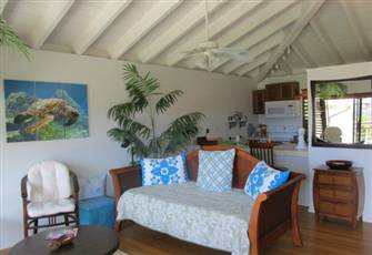 Romantic, Breezy Ocean View Retreat with Available Car (Molokai, Hi)