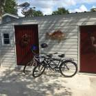 3 Adult Bikes Included with Private Shed to Store them
