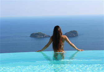 Villa Miragalli Luxury Infinity Pool,Hot Tub,Seafront,Amazing Ocean View!