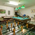 Choose from Pool, Foos Ball, Air Hockey Or Basketball all under one Roof.