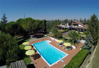 Villa with Pool, View of Assisi