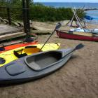 4 Kayaks, 1 Paddle Boat, 1 Canoe all Included